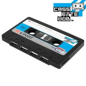 Cassette Hub USB (Negro)