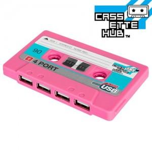 Cassette Hub USB (Rosa)
