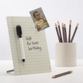 Dry Erase Magnetic Desktop Memo Board