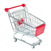 Mini Shopping Cart Desktop Organizer