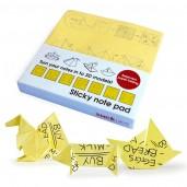 """Bloc de notas adhesivas y Papiroflexia """"Origami"""""""