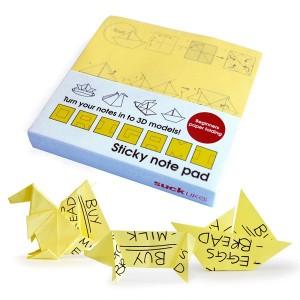 "Bloc de notas adhesivas de Papiroflexia ""Origami"""