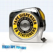Tape Measure Sticky Tape Dispenser