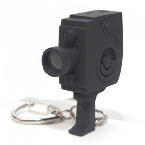 Led Keyring Movie Camera with Sound