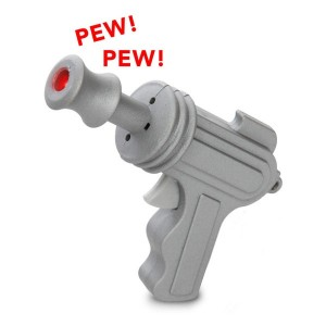 Led Keyring Space Gun with Sound
