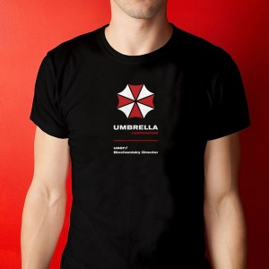 Camiseta Resident Evil - Umbrella Corporation