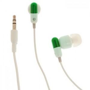 Auriculares Cápsula Medicinal