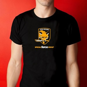 Camiseta Fox Hound - Metal Gear