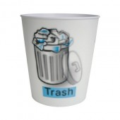 "Lenticular Wastebasket ""Trash Icon"""