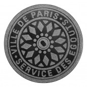 Paris Manhole Cover Doormat