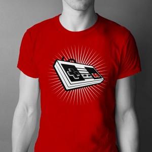 Camiseta Mando Nintendo - NES