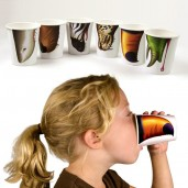 "Vasos con Narices Salvajes ""Pick your Nose"""