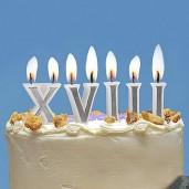 """Velas números Romanos """"Roman Candles"""""""