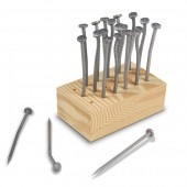 """Pound"" Bent Nail Party Toothpicks"
