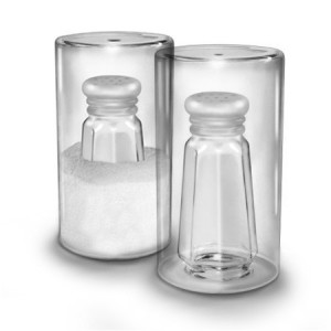 Saltside Out Salt Shaker