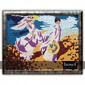 "Mosaic Table ""Women at sea"""