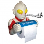 Ultraman Toilet roll holder with light and sound