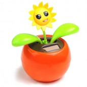 Solar Power Flip Flap Plant