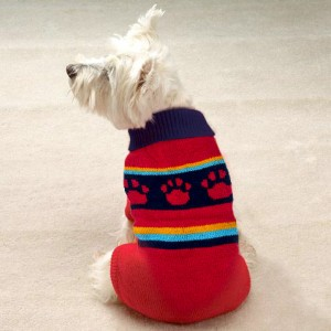 Pack of 3 adjustable Wool Dog Sweaters