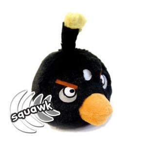Peluche Angry Birds Negro con Sonidos