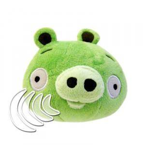 Peluche Angry Birds Cerdo con Sonidos