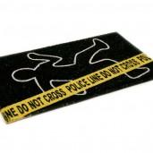 Police Line Doormat