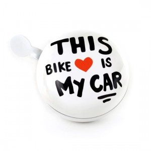 "Timbre Grande de Bicicleta ""This Bike is my Car"""