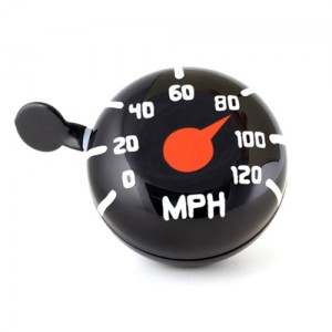 Dring Bike Bell Speedometer Large