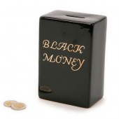 Hucha Black Money (Dinero Negro)
