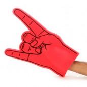 "Sponge hand Fan ""Horns Hand"""