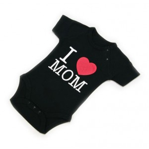 "Body Bebé ""I Love Mom"""