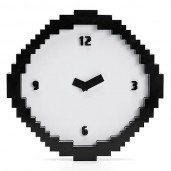 """Pixel Time"" Clock"