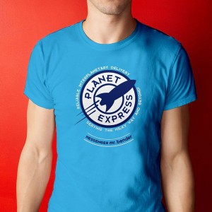 T-Shirt Planet Express - Futurama