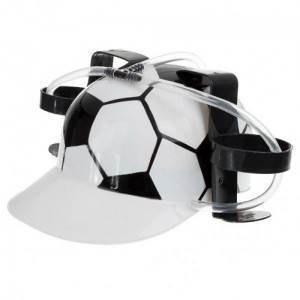 Casco Fútbol dispensador de Bebidas