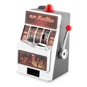 Mini-Slot Machine Savings Bank