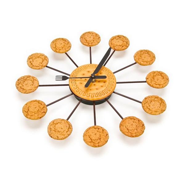 Comprar reloj de pared galletas universoriginal - Reloj cocina original ...