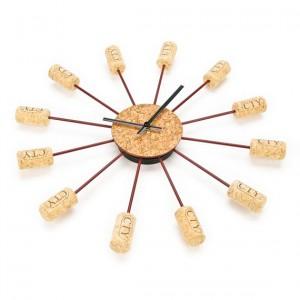 Reloj de pared de Corchos