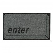 &quot;Enter&quot; Key Doormat