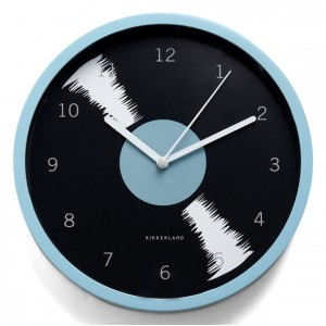 Reloj de pared Disco Vinilo