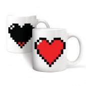 Taza Corazón Pixel