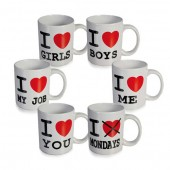 &quot;I Love&quot; Mug