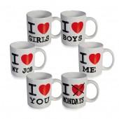 """""""I Love"""" Mug"""