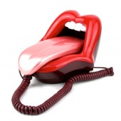"""Rolling Stones"" Mouth Phone"