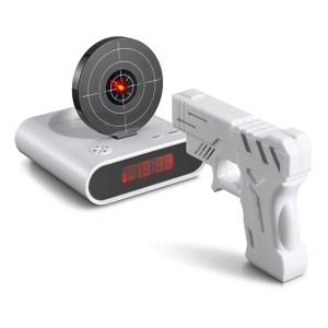 Laser Gun Shot Alarm Clock