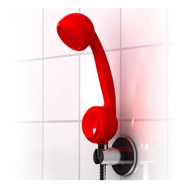Comprar mango de ducha tel fono retro off the hook for Telefono de ducha