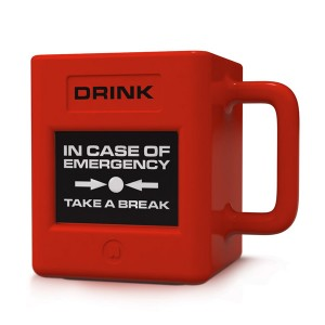 "Taza para Emergencias ""Take a Break"""