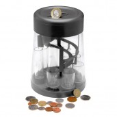 Digital Counting and Sorter Money Jar Euros