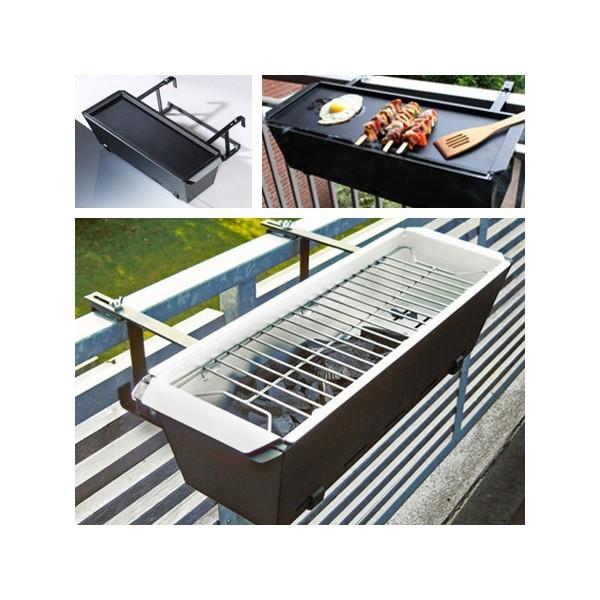 Comprar barbacoa de balc n con plancha y grill - Barbacoa de balcon ...