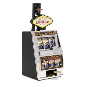 """Las Vegas"" Slot Machine Money Box"
