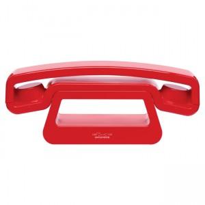 Teléfono inalámbrico ePure Dect - Swissvoice (Rojo)